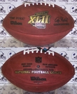Wilson F1007 Official Leather NFL Super Bowl XLII Game Football