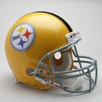 Pittsburgh Steelers 1962 Throwback Riddell Authentic NFL Full Size On Field Proline Football Helmet