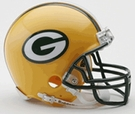 Green Bay Packers Autographed Mini Helmets