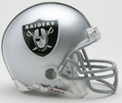 Oakland Raiders Autographed Mini Helmets