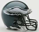 Philadelphia Eagles Autographed Mini Helmets
