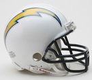 San Diego Chargers Autographed Mini Helmets