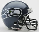 Seattle Seahawks Autographed Mini Helmets