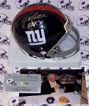 YA Tittle - Riddell - Autographed Mini Helmet - New York Giants - PSA/DNA