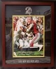 Lee Roy Selmon - Autographed Framed 8x10 Photo Tampa Bay Bucs