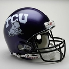 TCU Autographed Full Size On Field Authentic Proline Helmets