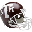 Texas A&M Aggies Autographed Full Size Riddell Deluxe Replica Football Helmets