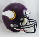 Minnesota Vikings 1983-2001 Throwback Riddell Authentic NFL Full Size On Field Proline Football Helmet