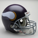 Minnesota Vikings 1961-1979 Throwback Riddell Authentic NFL Full Size On Field Proline Football Helmet