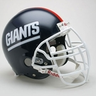 New York Giants 1981-1999 Throwback Riddell Authentic NFL Full Size On Field Proline Football Helmet - Lawrence Taylor Mask