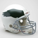 Philadelphia Eagles 1969-1973 Throwback Riddell Authentic NFL Full Size On Field Proline Football Helmet