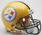 Pittsburgh Steelers 2007 Throwback Riddell Authentic NFL Full Size On Field Proline Football Helmet