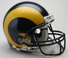 St. Louis Rams 1981-1999 Throwback Riddell Authentic NFL Full Size On Field Proline Football Helmet