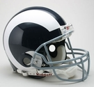 Los Angeles Rams 1965-1972 Throwback Riddell Authentic NFL Full Size On Field Proline Football Helmet