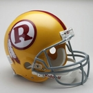 Washington Redskins 1970-1971 Throwback Riddell Authentic NFL Full Size On Field Proline Football Helmet