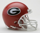 Georgia Bulldogs VSR4 Riddell Mini Football Helmet
