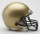 Navy Midshipmen VSR4 Riddell Mini Football Helmet