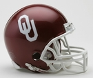 Oklahoma Sooners VSR4 Riddell Mini Football Helmet