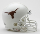 Texas Longhorns VSR4 Riddell Mini Football Helmet