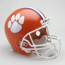 Clemson Tigers Riddell NCAA Full Size Deluxe Replica Football Helmet