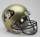 Colorado Buffaloes Riddell NCAA Full Size Deluxe Replica Football Helmet