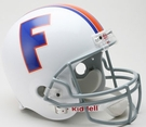 Florida Gators 1966 Throwback Riddell NCAA Full Size Deluxe Replica Football Helmet