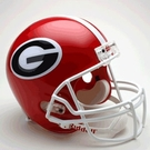 Georgia Bulldogs Riddell NCAA Full Size Deluxe Replica Football Helmet
