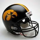 Iowa Hawkeyes Riddell NCAA Full Size Deluxe Replica Football Helmet