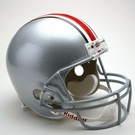 Ohio State Buckeyes Riddell NCAA Full Size Deluxe Replica Football Helmet