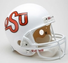 Oklahoma State Cowboys 1984-1992 Throwback Riddell NCAA Full Size Deluxe Replica Football Helmet