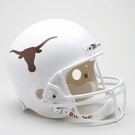 Texas Longhorns Riddell NCAA Full Size Deluxe Replica Football Helmet