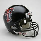 Texas Tech Red Raiders Riddell NCAA Full Size Deluxe Replica Football Helmet