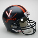 Virginia Cavaliers Riddell NCAA Full Size Deluxe Replica Football Helmet