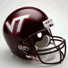 Virginia Tech Hokies Riddell NCAA Full Size Deluxe Replica Football Helmet