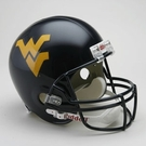 West Virginia Mountaineers Riddell NCAA Full Size Deluxe Replica Football Helmet