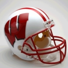 Wisconsin Badgers Riddell NCAA Full Size Deluxe Replica Football Helmet