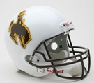 Wyoming Cowboys Riddell NCAA Full Size Deluxe Replica Football Helmet