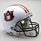 Auburn Tigers Riddell Authentic NCAA Full Size On Field Proline Football Helmet