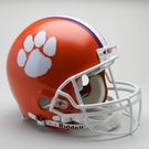Clemson Tigers Riddell Authentic NCAA Full Size On Field Proline Football Helmet