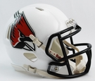 Ball State Speed Revolution Riddell Mini Football Helmet