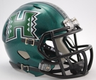 Hawaii Warriors Speed Revolution Riddell Mini Football Helmet