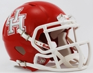 Houston Cougars Speed Revolution Riddell Mini Football Helmet