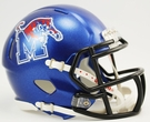 Memphis Tigers Speed Revolution Riddell Mini Football Helmet