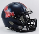Mississippi Ole Miss Speed Revolution Riddell Mini Football Helmet