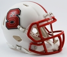 North Carolina State Wolfpack Speed Revolution Riddell Mini Football Helmet