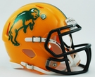 North Dakota State Bison Speed Revolution Riddell Mini Football Helmet