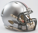 Ohio State Buckeyes Speed Revolution Riddell Mini Football Helmet