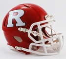 Rutgers Speed Revolution Riddell Mini Football Helmet