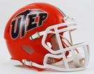 UTEP Texas EL Paso Speed Revolution Riddell Mini Football Helmet
