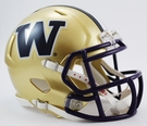 Washington Huskies Speed Revolution Riddell Mini Football Helmet